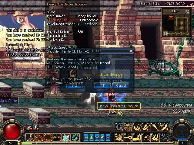 My 1st orange item DFOScreenshot00062-1
