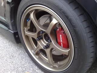 """WTS 15"""" Advan Racing RGII 29012009554"""