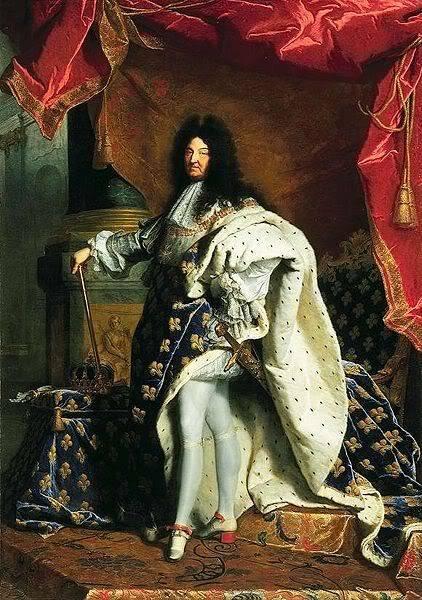 MENUS REALES. DESDE LEONARDO A PICASSO. - Página 4 422px-Louis_XIV_of_France