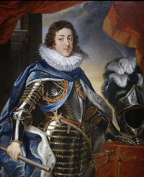 MENUS REALES. DESDE LEONARDO A PICASSO. - Página 4 489px-Louis_XIII