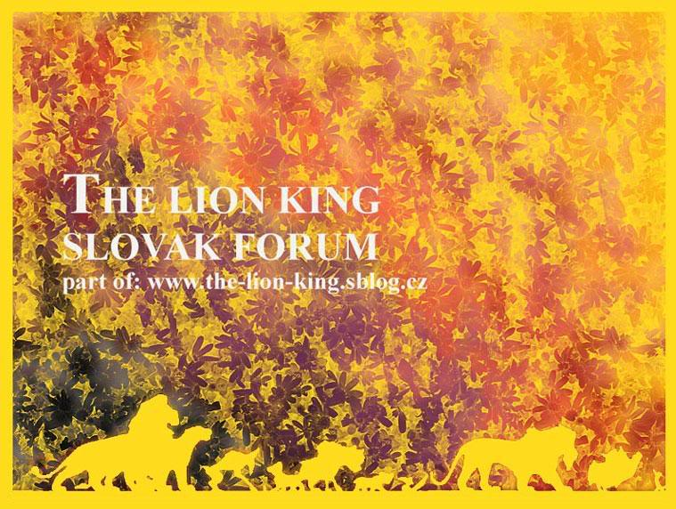 The Lion King Slovak Forum