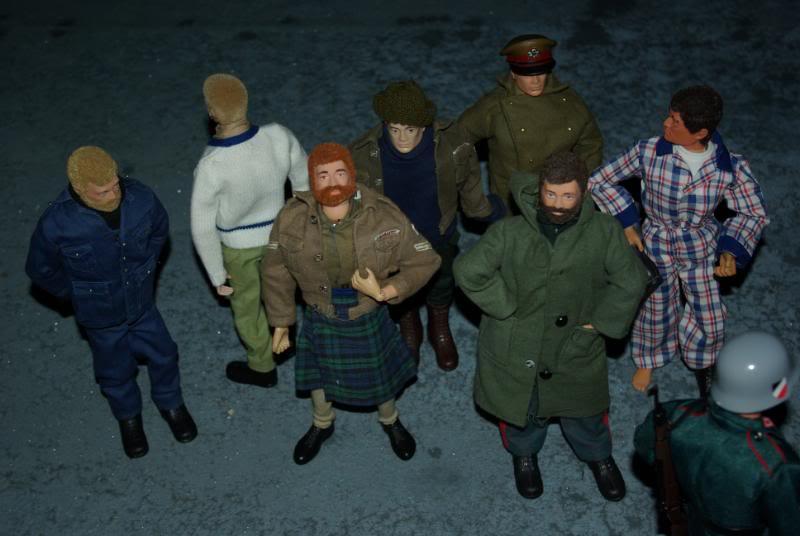 Christmas Colditz story! Dummyparade