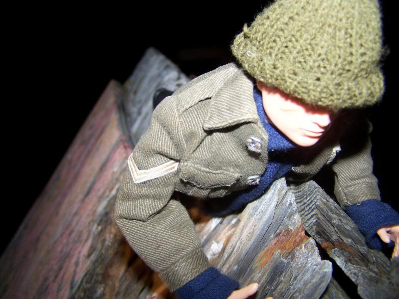 Christmas Colditz story! Roof