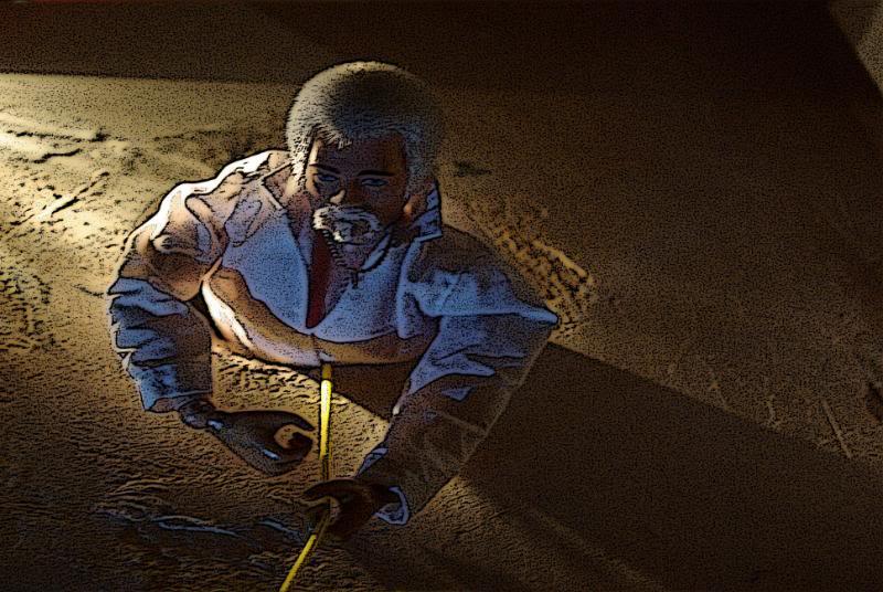 The Adventures of G.I.Joe - 'L'origine de NoFace!'  Firstdescent2