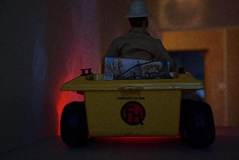 The Adventures of G.I.Joe - 'L'origine de NoFace!'  Joesarrival