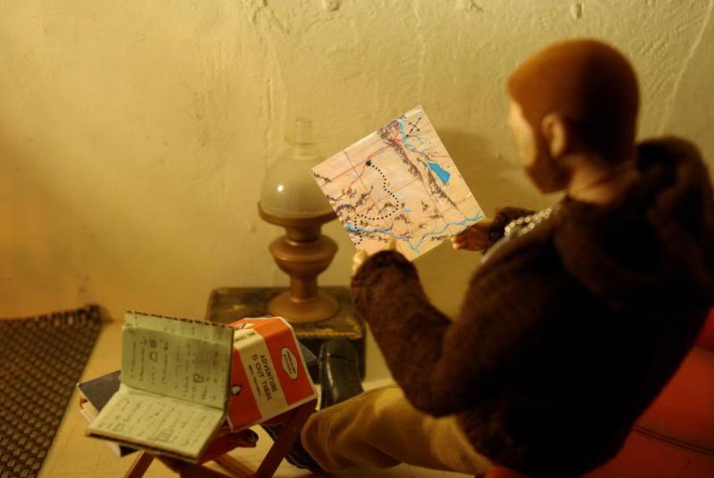 The Adventures of G.I.Joe - 'L'origine de NoFace!'  Map