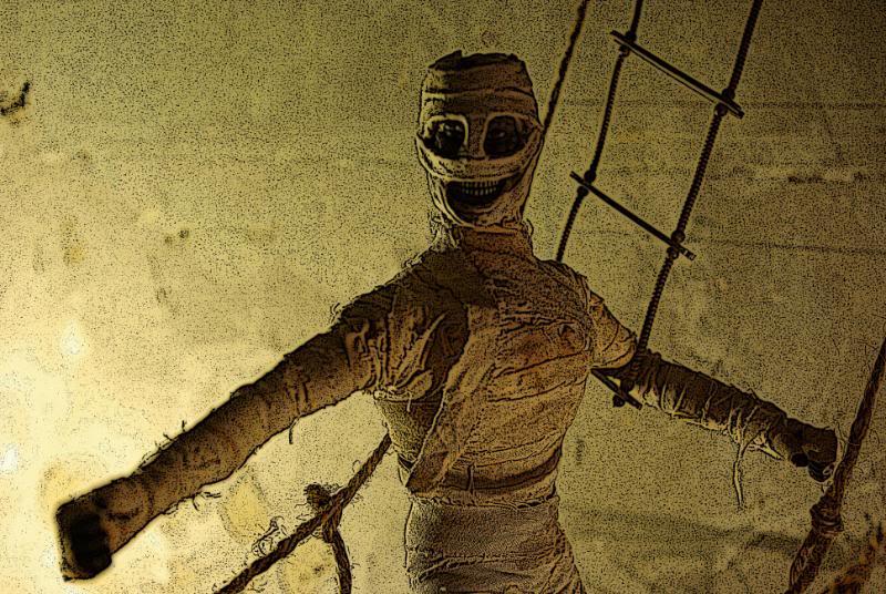 The Adventures of G.I.Joe - 'L'origine de NoFace!'  Mummybridge1
