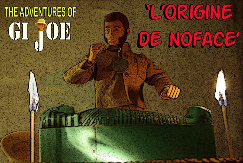 The Adventures of G.I.Joe - 'L'origine de NoFace!'  TwoTorchesPosterEdges