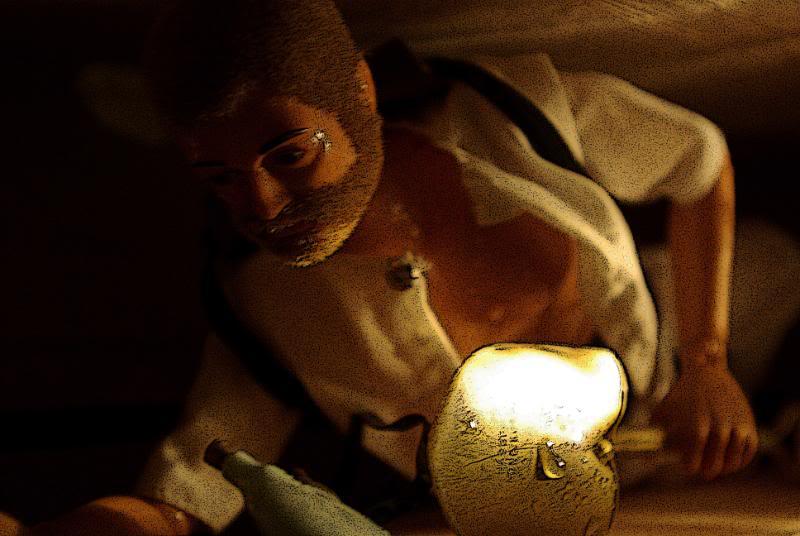 The Adventures of G.I.Joe - 'L'origine de NoFace!'  Tunelsweattwo