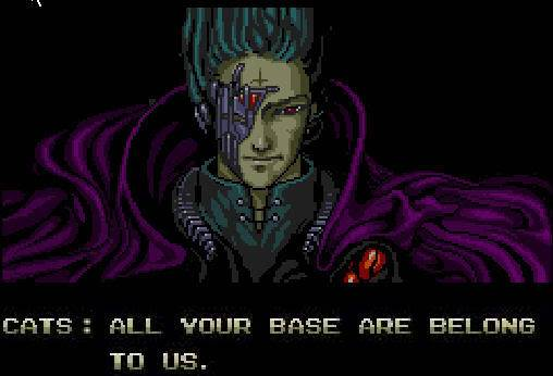 Who's your favorite video-game character, and why? All_your_base