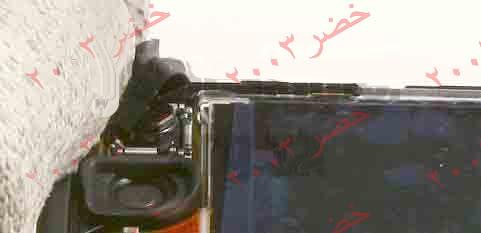 طريقة فك جوال ال n70 لأجراء الصيانه له شرح كامل بالصور التوضيحيه تم تعديل روابط الصور بتاريخ 14/1/2009  11-N70