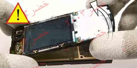 طريقة فك جوال ال n70 لأجراء الصيانه له شرح كامل بالصور التوضيحيه تم تعديل روابط الصور بتاريخ 14/1/2009  14-N70