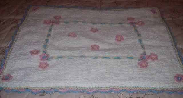 Completino e copertina in lana per neonata 101_2961
