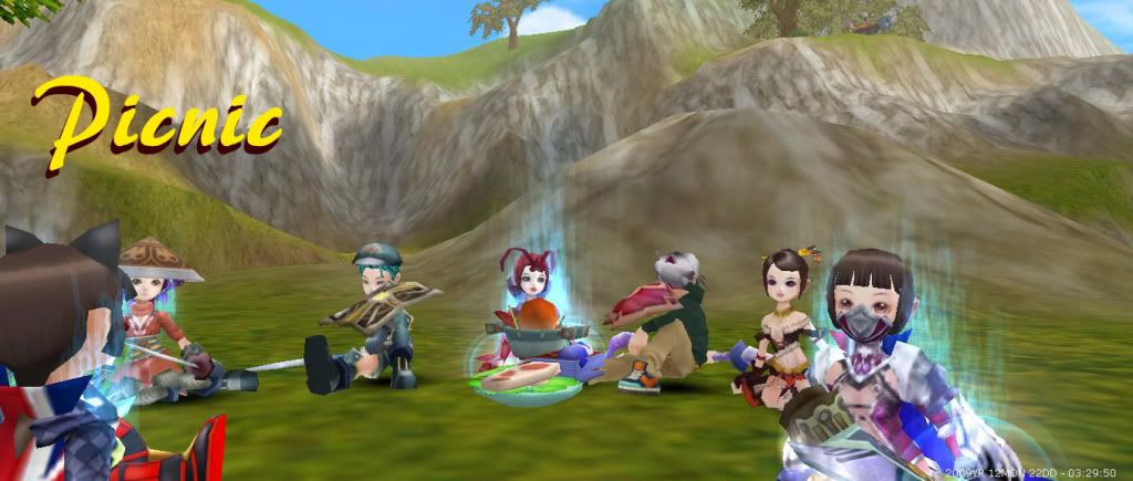 Guild Pictures <3 Picnic