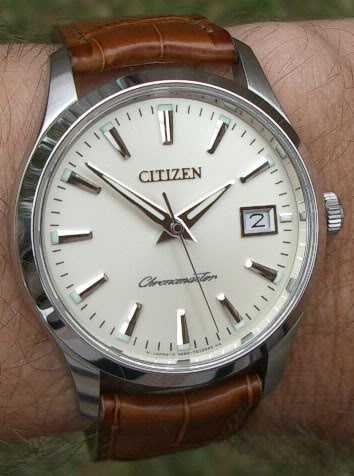 Let's see those Rolexes CitizenChronomaster
