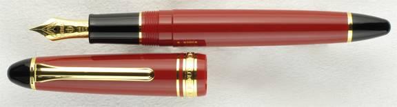 A New Pen Sailor-1911-midsize-red-gold-trim-uncapped1_zpsehpaqtwc