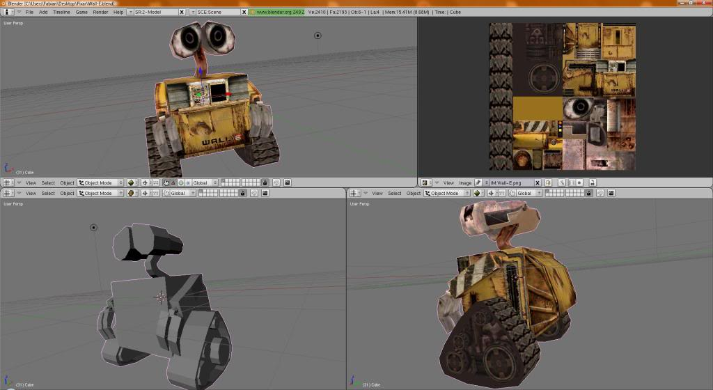 Pixar Quest LOOK OUT FOR THE UPDATE. Walle-1