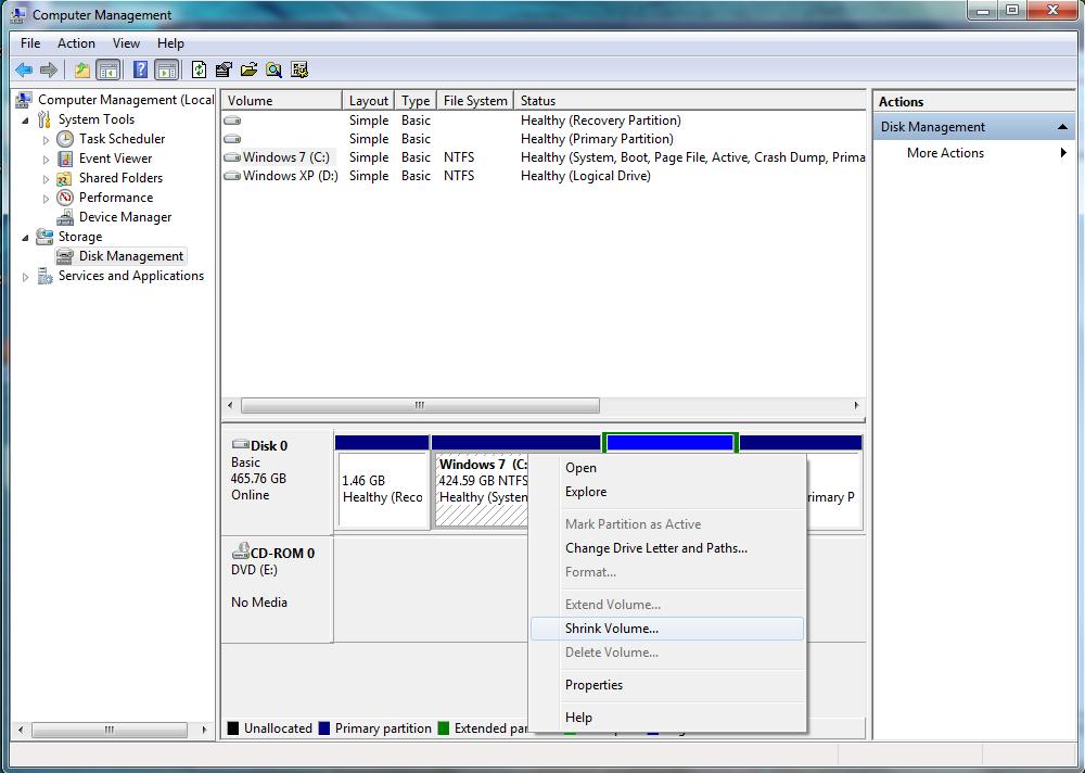 [Guide] Dual-Booting Windows XP onto Windows Vista/7 1-1