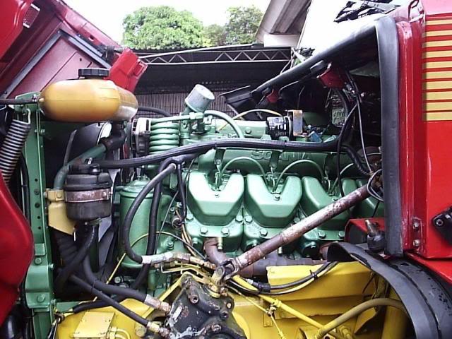 Scania 142 HS Intercooler - motor 8 cil. 001