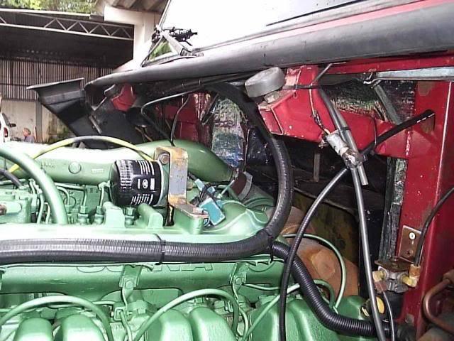 Scania 142 HS Intercooler - motor 8 cil. 003
