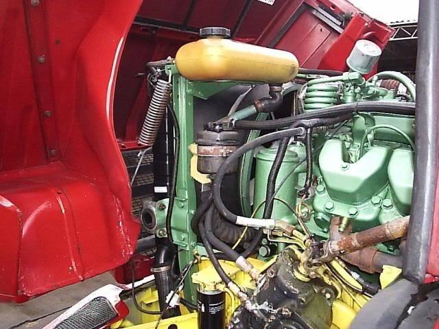 Scania 142 HS Intercooler - motor 8 cil. 004