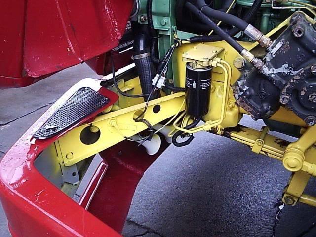 Scania 142 HS Intercooler - motor 8 cil. 005