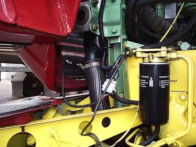 Scania 142 HS Intercooler - motor 8 cil. 007