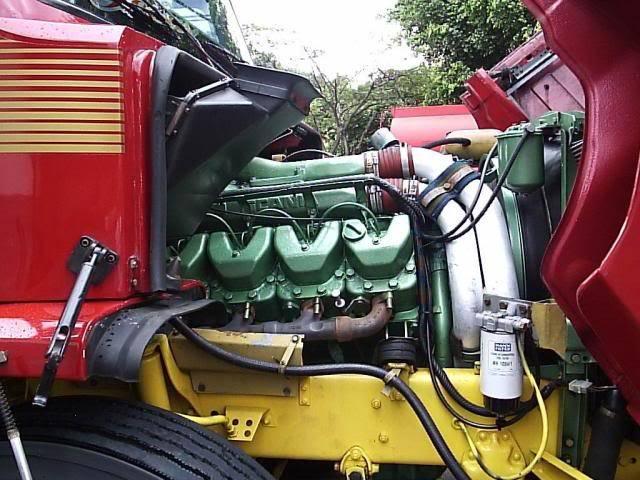 Scania 142 HS Intercooler - motor 8 cil. 015