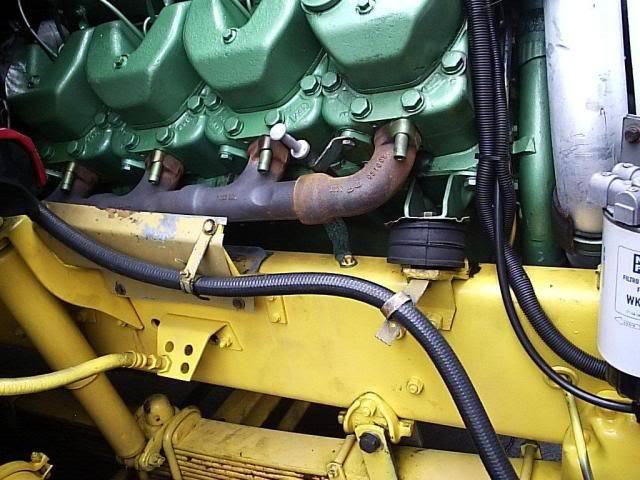 Scania 142 HS Intercooler - motor 8 cil. 019