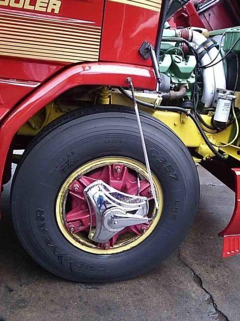 Scania 142 HS Intercooler - motor 8 cil. 021