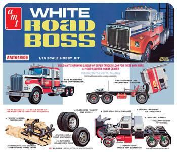 White Road Boss - AMT 1/25 - Concluído. 002