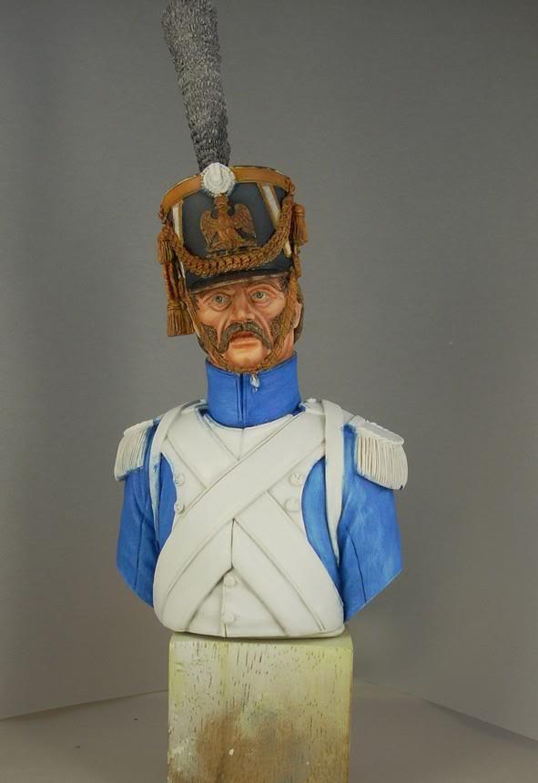 Buste Fusilier Grenadier de la Garde 1809 BusteLuc