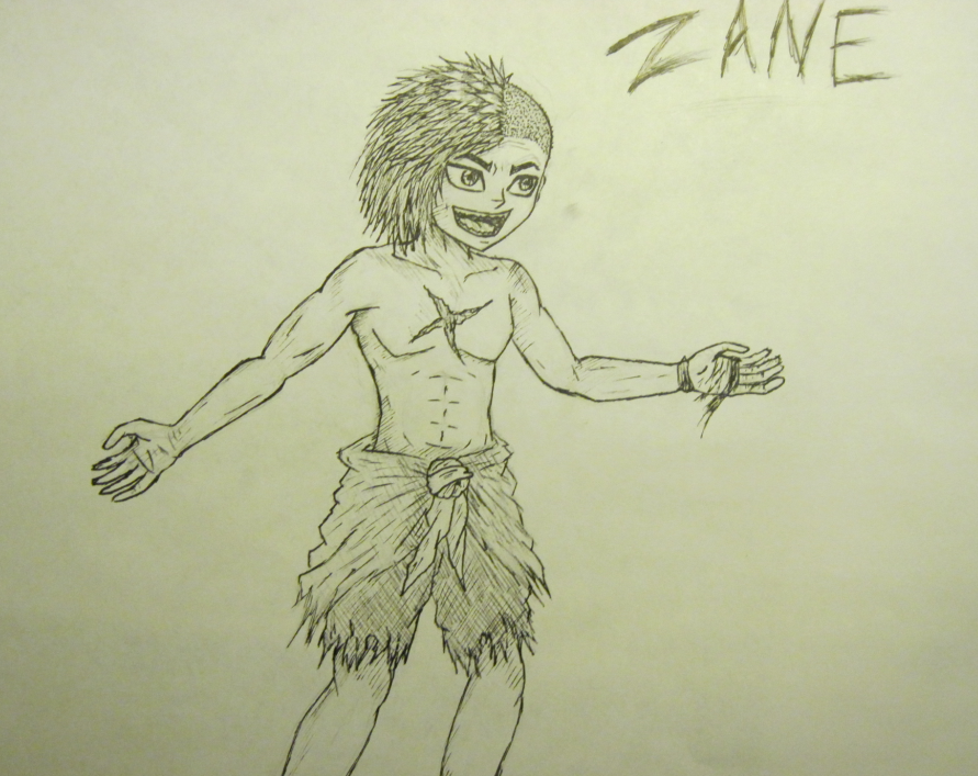 DD doodles Zane