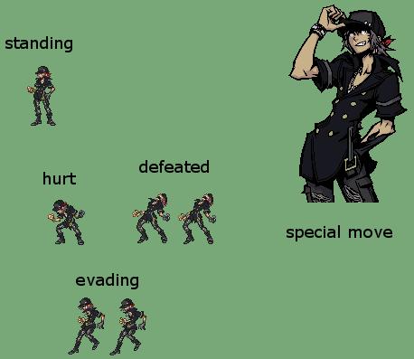 RPG Battle Nivlacrpgspritesheet