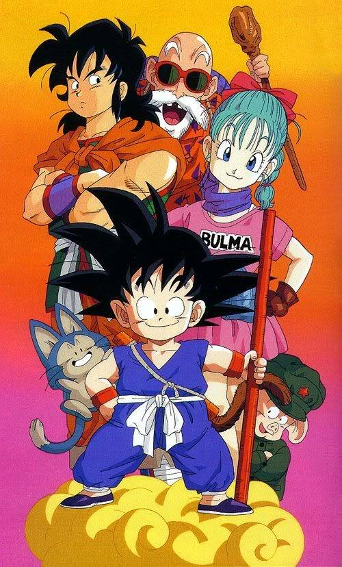 RPG Dragonball Goku 'till Picollo Jr. Saga Gokuandothersonthenimbuscloud