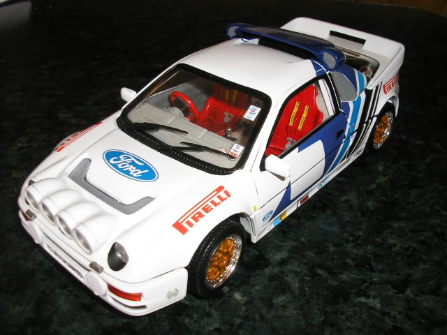 1:18 Ricko Ford RS200 Conversion Rs200a