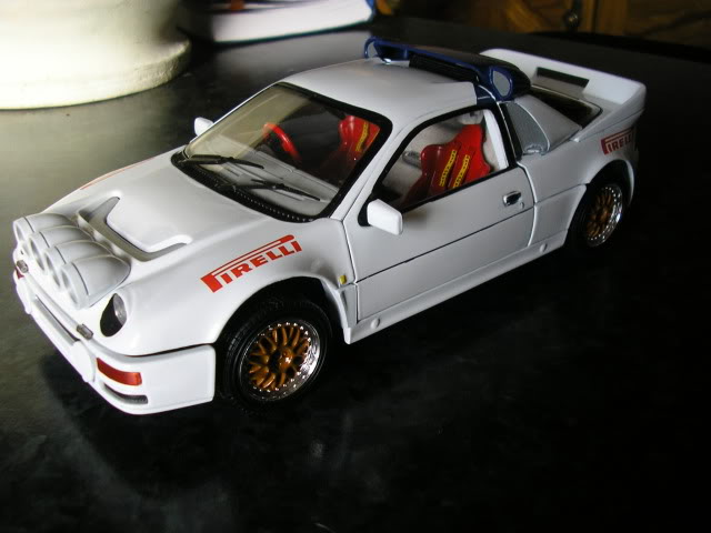 1:18 Ricko Ford RS200 Conversion Rs200c
