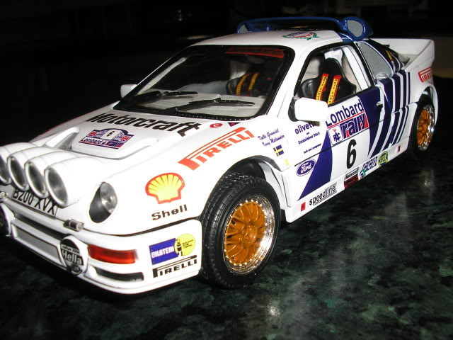 1:18 Ricko Ford RS200 Conversion Rs200i