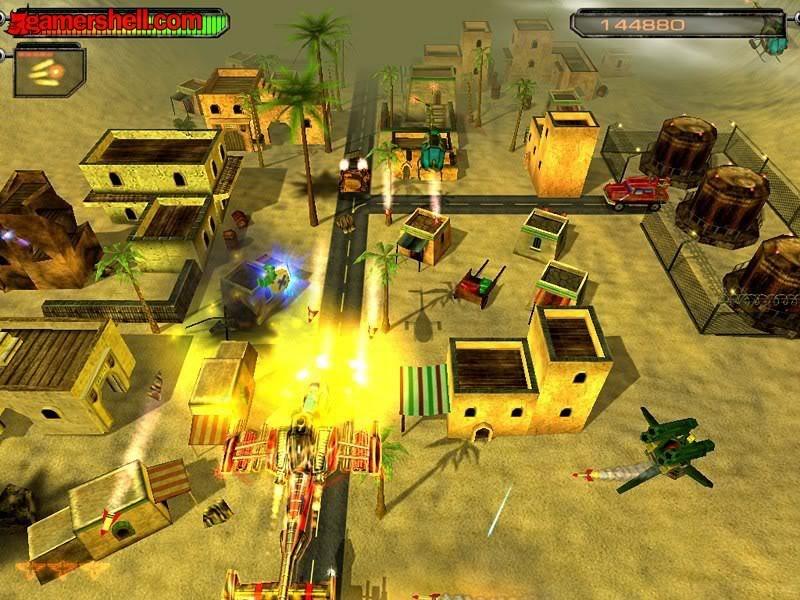 Air Strike 2 Gulf Thunder game không chiến  AirStrike1