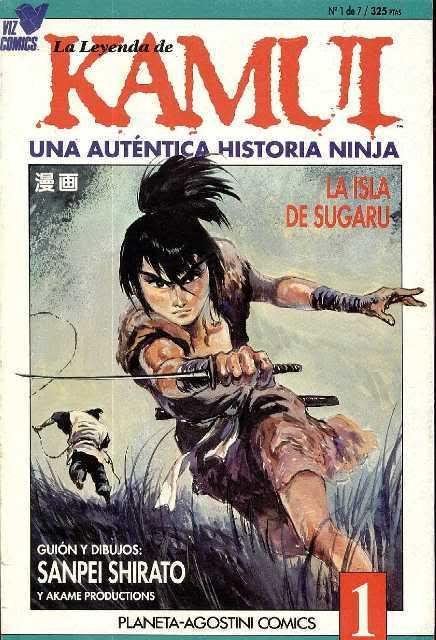 Kamui el ninja desertor regresa en forma de precuela!!! Llkamui