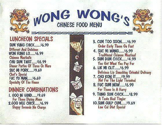 You Laugh You Lose Wongs