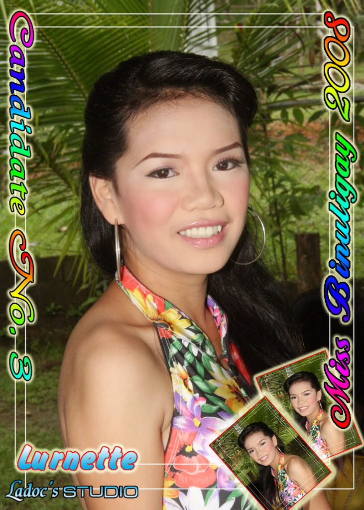 CANDIDATES FOR MISS BINULIGAY 2008... 31