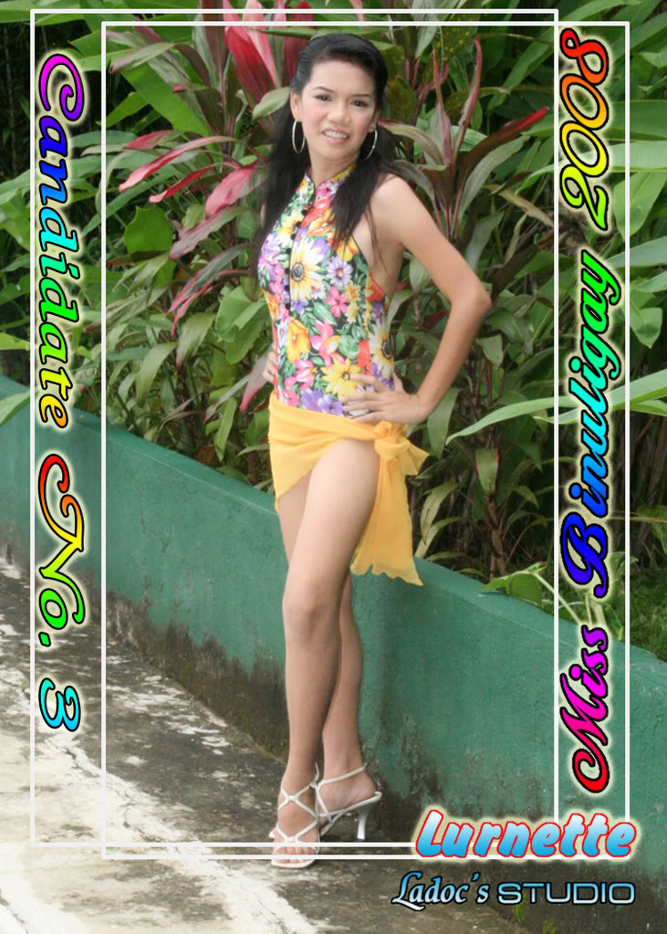 CANDIDATES FOR MISS BINULIGAY 2008... 33