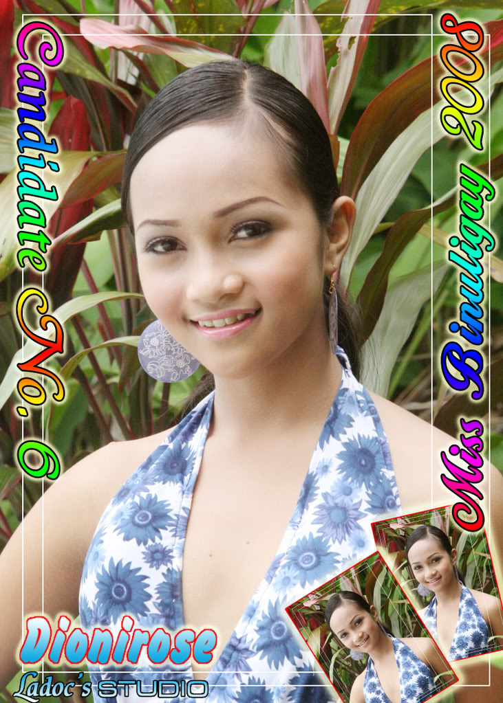 CANDIDATES FOR MISS BINULIGAY 2008... 62
