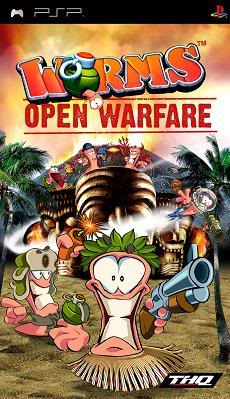 Worms open warfare Psp_worms1