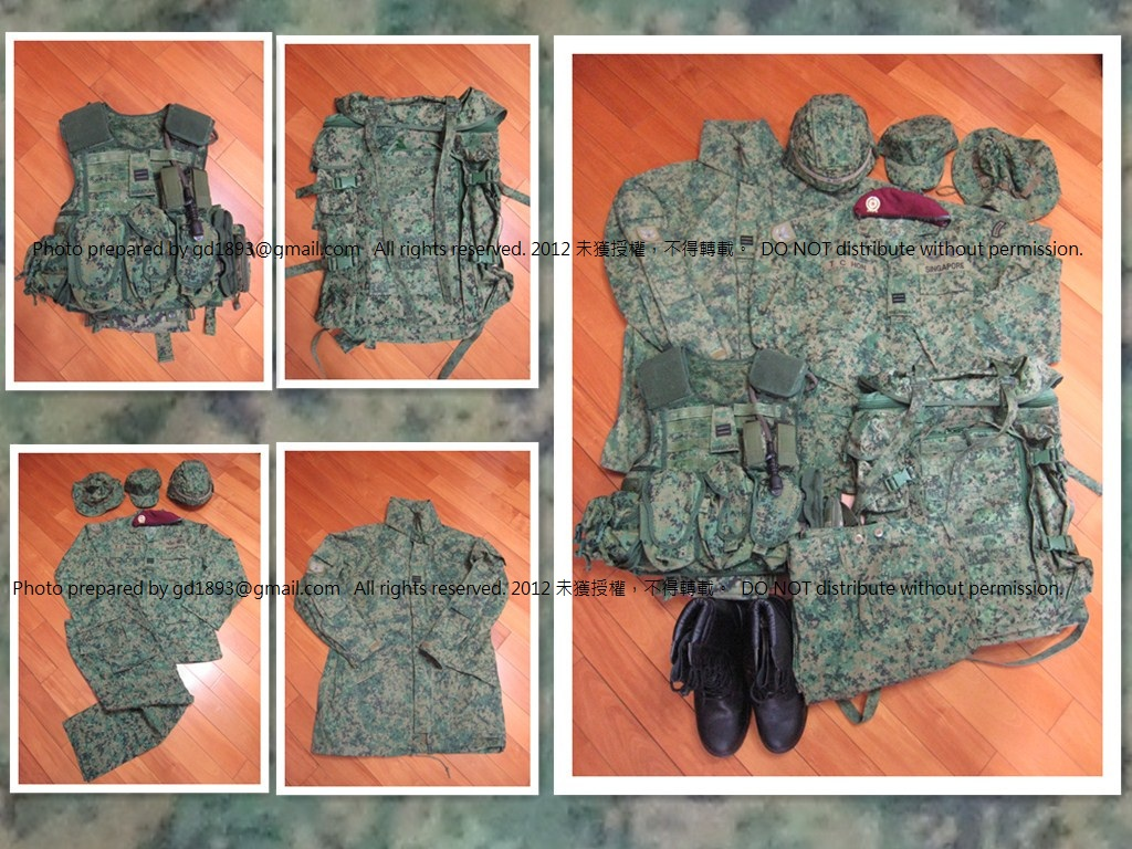 My small collection of Singapore Armed Force Militaria. SAF1-s