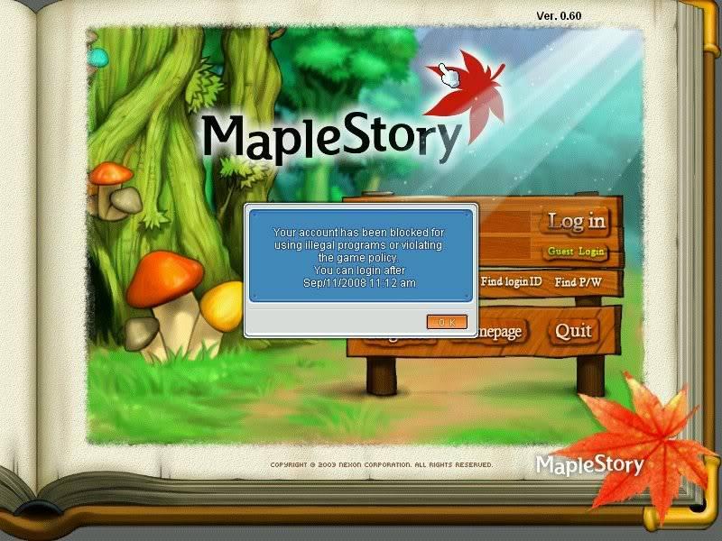 **Old Screen Shots Thread** MapleStory2008-09-1014-19-19-10