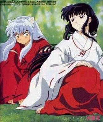 Cảnh đẹp nhất, lãng mạn nhất giữa Inuyasha và Kikyou Inuyasha___Kikyou_7