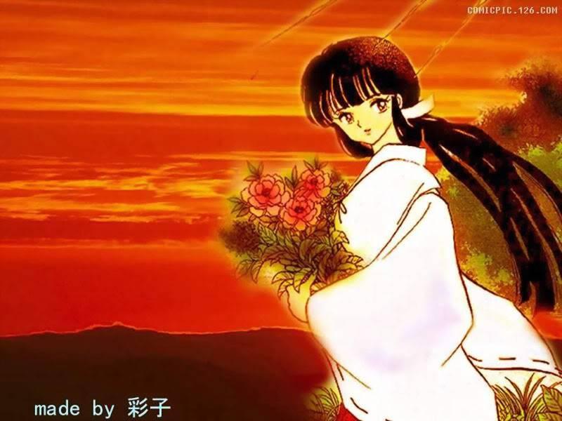 Nụ cười của Kikyou Inuyasha-wallpaper-28