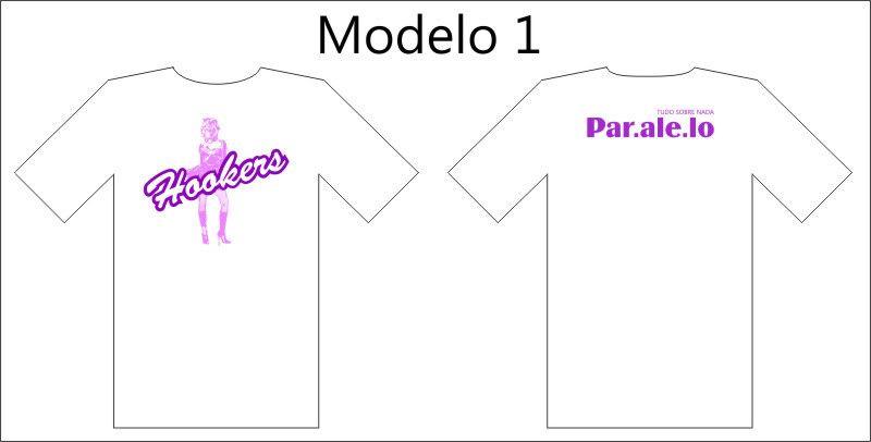 Camisetas Paralelo. Mod1
